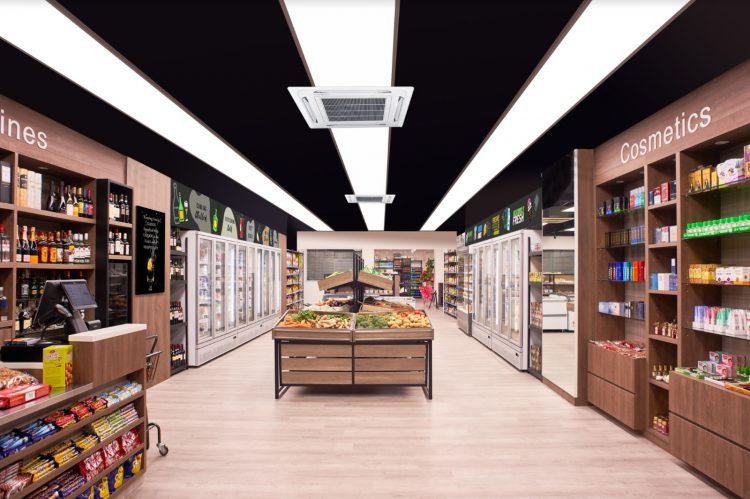 Mint city , retail shop, retail design