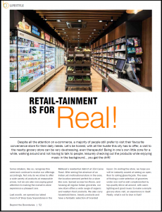 Retail-tainment is for real