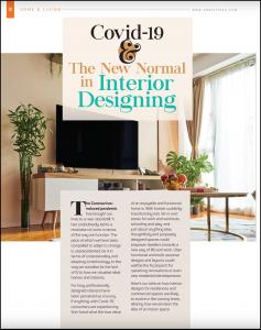 Covid-19 & the new normal in intrior designing, covid article, desiflava