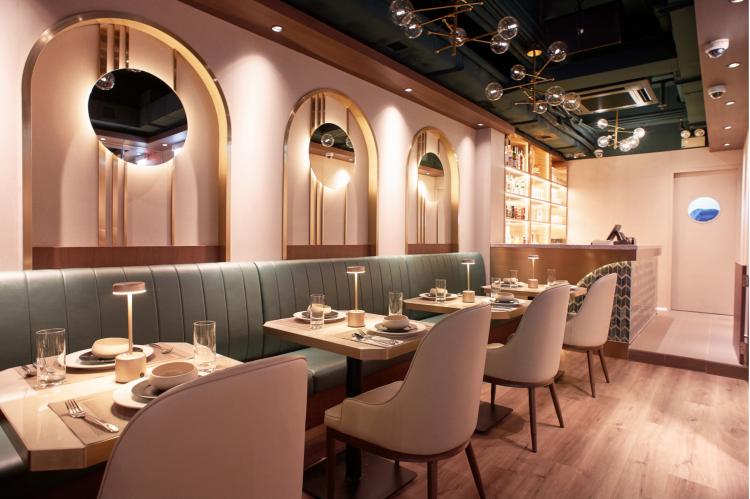 Tagline restaurant design